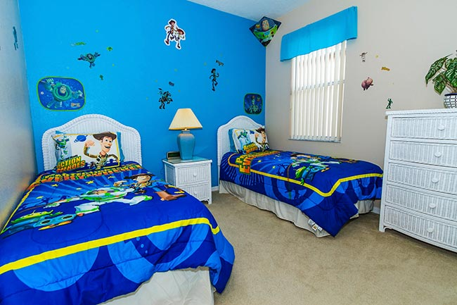 toy story themed bedroom butterfly villa orlando vacation villa for